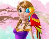 Ледяная Принцесса и Милый Попугай