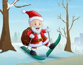Доставка подарков Санта-Клауса