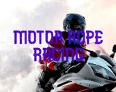 Мото-гонка с тросом