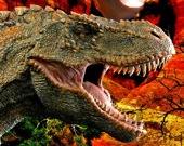 Динозавр T-Rex - Пазл