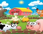 Выучи животных на ферме