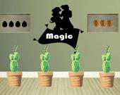Побег Джина из волшебной лампы