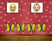 Побег из дома с бабочками