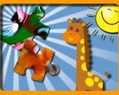 Экзотические Животные: игра-головоломка