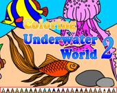 Раскраска: Подводный мир 2