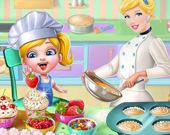 Синди готовит кексы