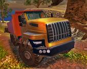 Симулятор подъёма грузовика в гору по бездорожью