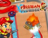 Веселый пожарный