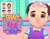 Веселая парикмахерская