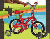 Велосипеды - Пазл