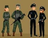 Война солдатов - Пазл