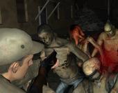 Тяжёлый бой с зомби