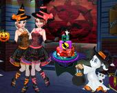Специальный пирог для вечеринки на Хэллоуин