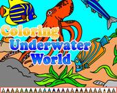 Раскраска: Подводный мир