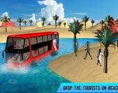 Плавающий экскурсионный автобус 3D