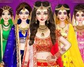 Свадебный макияж и одевалка