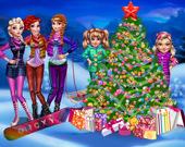 Рождественская ночь с принцессами