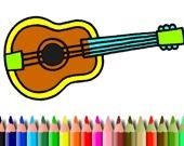 Раскраска: Музыкальные инструменты