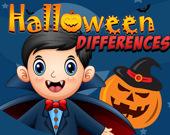 Хэллоуин: Найдите различия