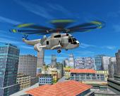 Полёт на городском вертолёте