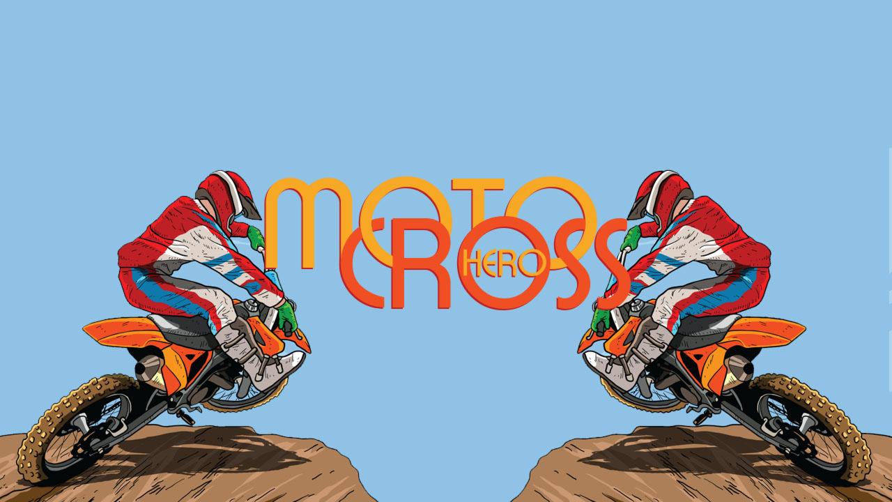 Онлайн раскраска MotoCross Hero Coloring – играть на Zarium
