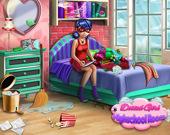 Dotted Girl уборка в комнате