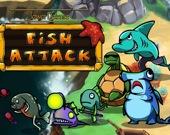 Башенная защита: Нападение рыб