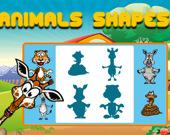 Фигуры животных для детского образования