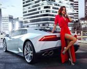 Пазл: Девушки и автомобили 2