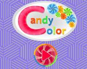Цветная конфетка