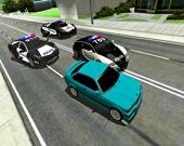 Безумная полицейская гонка