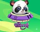 Космическое приключение малышки панды