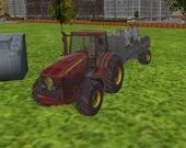 Городской трактор-мусоровоз 3D