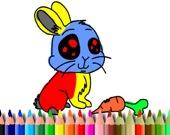BTS Кролик: игра-раскраска