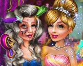Из ведьмы в принцессу: макияж