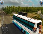 Симулятор вождения современного автобуса