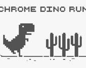 Бегущий динозавр из Хрома