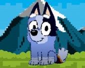 Пиксельный пес