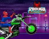 Мотогонка человека-паука