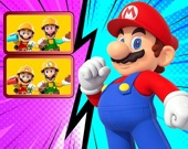 Супер Марио. Найди Различия