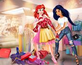 Принцессы на шоппинге