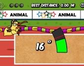 Олимпиада животных: Тройной прыжок