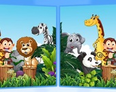 Найди семь отличий - Животные