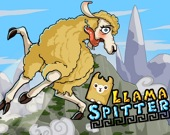 Скачущая лама