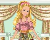 Крестьянское платье для Барби