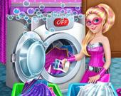Супер-куклы: Накидки для Стирки
