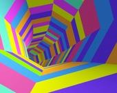 Гонщик в тоннеле
