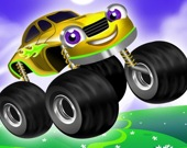 Детские машинки с мега-колесами