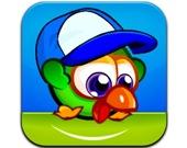 Зеленый цыпленок-прыгун