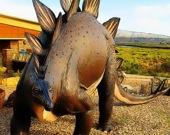 Пазл со стегозавром